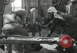 Image of Oil drilling rig Iraq, 1945, second 58 stock footage video 65675022193