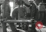 Image of Oil drilling rig Iraq, 1945, second 60 stock footage video 65675022193