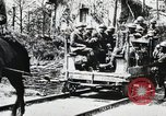 Image of 369 Infantry 93rd Division US Army African American soldiers Maffrecourt France, 1918, second 5 stock footage video 65675022197