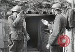Image of 369 Infantry 93rd Division US Army African American soldiers Maffrecourt France, 1918, second 20 stock footage video 65675022197