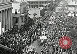 Image of Procession during the Mardi gras carnival New Orleans Louisiana USA, 1929, second 19 stock footage video 65675022222