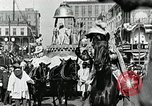 Image of Procession during the Mardi gras carnival New Orleans Louisiana USA, 1929, second 26 stock footage video 65675022222