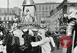 Image of Procession during the Mardi gras carnival New Orleans Louisiana USA, 1929, second 30 stock footage video 65675022222