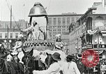Image of Procession during the Mardi gras carnival New Orleans Louisiana USA, 1929, second 31 stock footage video 65675022222