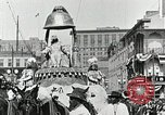 Image of Procession during the Mardi gras carnival New Orleans Louisiana USA, 1929, second 32 stock footage video 65675022222