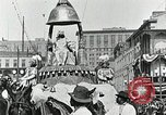 Image of Procession during the Mardi gras carnival New Orleans Louisiana USA, 1929, second 33 stock footage video 65675022222