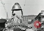 Image of Procession during the Mardi gras carnival New Orleans Louisiana USA, 1929, second 36 stock footage video 65675022222