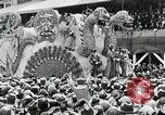 Image of Procession during the Mardi gras carnival New Orleans Louisiana USA, 1929, second 54 stock footage video 65675022222