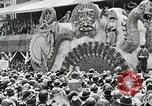 Image of Procession during the Mardi gras carnival New Orleans Louisiana USA, 1929, second 56 stock footage video 65675022222