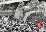 Image of Procession during the Mardi gras carnival New Orleans Louisiana USA, 1929, second 57 stock footage video 65675022222