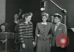 Image of Andrews sisters United States USA, 1944, second 4 stock footage video 65675022241