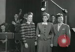 Image of Andrews sisters United States USA, 1944, second 6 stock footage video 65675022241