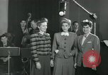 Image of Andrews sisters United States USA, 1944, second 8 stock footage video 65675022241
