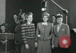 Image of Andrews sisters United States USA, 1944, second 11 stock footage video 65675022241