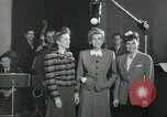 Image of Andrews sisters United States USA, 1944, second 16 stock footage video 65675022241