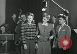 Image of Andrews sisters United States USA, 1944, second 22 stock footage video 65675022241
