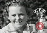 Image of Patricia Jane Berg and Julius Page Wilmette Illinois USA, 1938, second 47 stock footage video 65675022260