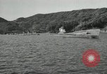 Image of Japanese submarines scheduled for destruction Sasebo Bay Japan, 1946, second 4 stock footage video 65675022265