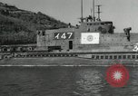 Image of Japanese submarines scheduled for destruction Sasebo Bay Japan, 1946, second 14 stock footage video 65675022265