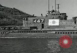 Image of Japanese submarines scheduled for destruction Sasebo Bay Japan, 1946, second 15 stock footage video 65675022265
