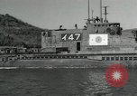 Image of Japanese submarines scheduled for destruction Sasebo Bay Japan, 1946, second 16 stock footage video 65675022265