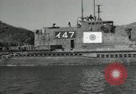 Image of Japanese submarines scheduled for destruction Sasebo Bay Japan, 1946, second 17 stock footage video 65675022265