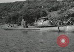 Image of Japanese submarines scheduled for destruction Sasebo Bay Japan, 1946, second 20 stock footage video 65675022265