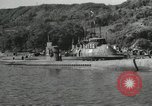 Image of Japanese submarines scheduled for destruction Sasebo Bay Japan, 1946, second 22 stock footage video 65675022265