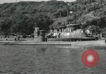 Image of Japanese submarines scheduled for destruction Sasebo Bay Japan, 1946, second 24 stock footage video 65675022265