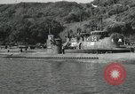 Image of Japanese submarines scheduled for destruction Sasebo Bay Japan, 1946, second 25 stock footage video 65675022265