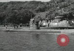 Image of Japanese submarines scheduled for destruction Sasebo Bay Japan, 1946, second 26 stock footage video 65675022265