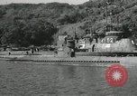 Image of Japanese submarines scheduled for destruction Sasebo Bay Japan, 1946, second 27 stock footage video 65675022265