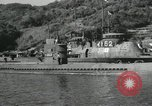 Image of Japanese submarines scheduled for destruction Sasebo Bay Japan, 1946, second 29 stock footage video 65675022265