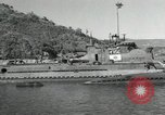 Image of Japanese submarines scheduled for destruction Sasebo Bay Japan, 1946, second 32 stock footage video 65675022265