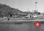 Image of Japanese submarines scheduled for destruction Sasebo Bay Japan, 1946, second 34 stock footage video 65675022265