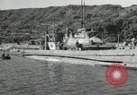 Image of Japanese submarines scheduled for destruction Sasebo Bay Japan, 1946, second 37 stock footage video 65675022265