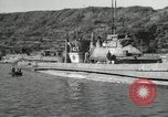 Image of Japanese submarines scheduled for destruction Sasebo Bay Japan, 1946, second 38 stock footage video 65675022265