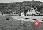 Image of Japanese submarines scheduled for destruction Sasebo Bay Japan, 1946, second 39 stock footage video 65675022265