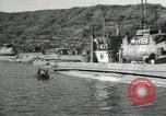 Image of Japanese submarines scheduled for destruction Sasebo Bay Japan, 1946, second 40 stock footage video 65675022265