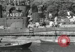 Image of Japanese submarines scheduled for destruction Sasebo Bay Japan, 1946, second 50 stock footage video 65675022265