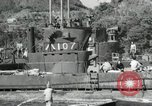 Image of Japanese submarines scheduled for destruction Sasebo Bay Japan, 1946, second 51 stock footage video 65675022265