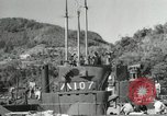 Image of Japanese submarines scheduled for destruction Sasebo Bay Japan, 1946, second 52 stock footage video 65675022265