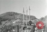 Image of Japanese submarines scheduled for destruction Sasebo Bay Japan, 1946, second 58 stock footage video 65675022265