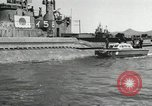 Image of Japanese submarines scheduled for destruction Sasebo Bay Japan, 1946, second 59 stock footage video 65675022265