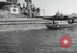Image of Japanese submarines scheduled for destruction Sasebo Bay Japan, 1946, second 60 stock footage video 65675022265