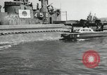 Image of Japanese submarines scheduled for destruction Sasebo Bay Japan, 1946, second 61 stock footage video 65675022265