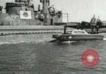 Image of Japanese submarines scheduled for destruction Sasebo Bay Japan, 1946, second 62 stock footage video 65675022265