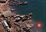 Image of The Japanese submarines being taken to the sea Sasebo Bay Japan, 1946, second 35 stock footage video 65675022269