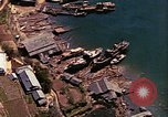 Image of The Japanese submarines being taken to the sea Sasebo Bay Japan, 1946, second 36 stock footage video 65675022269