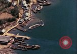 Image of The Japanese submarines being taken to the sea Sasebo Bay Japan, 1946, second 39 stock footage video 65675022269